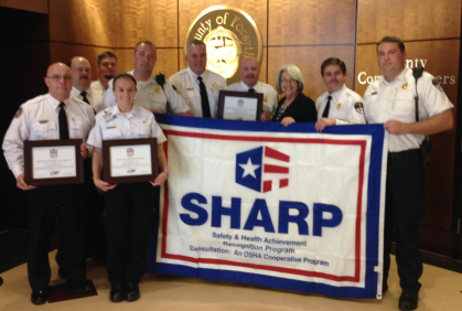 Fire and EMS Receive Distinguished SHARP Awards