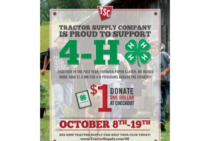 You Can Help 4-H Members Earn Scholarship Dollars