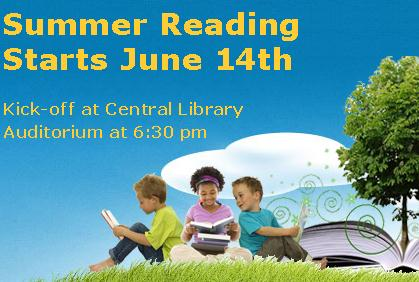 Summer Reading Kickoff at the Library