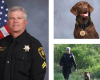Corporal M. Holt and K-9 Reesee Retire