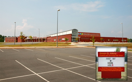 Forsyth county north carolina simon g atkins academic and technology high school fandeluxe Image collections