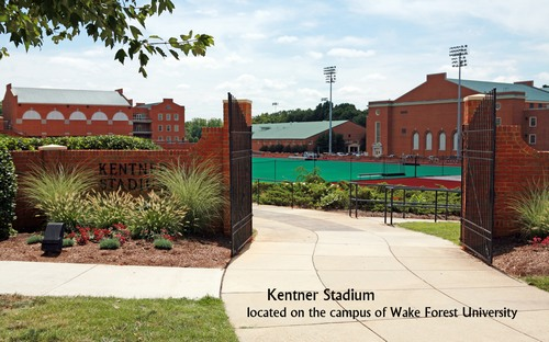 Ketner Stadium - located on the campus of Wake Forest University