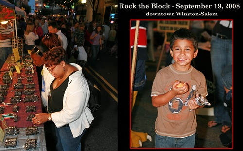 Rock the Block - Downtown Winston-Salem