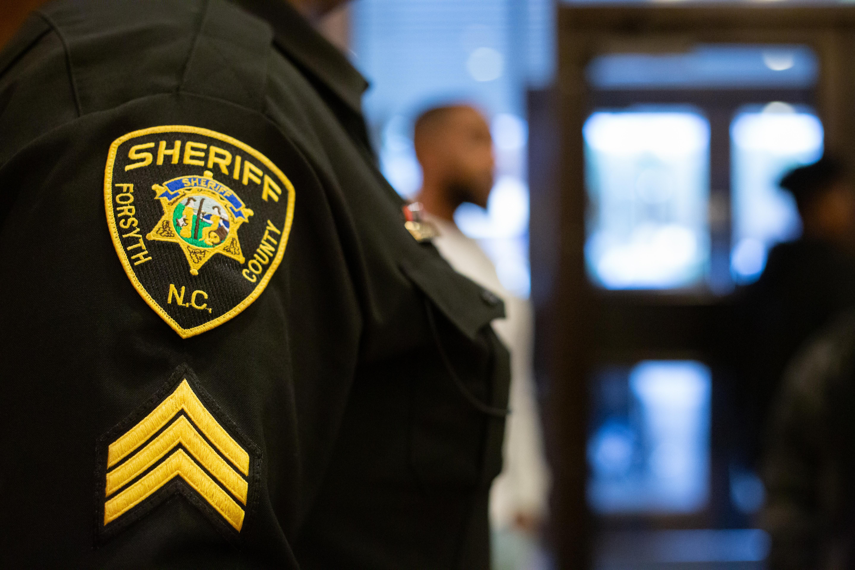Style #1 Winston-Salem, NC Sheriff/'s Office Patch Forsyth County